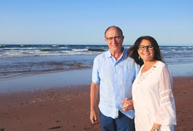 Scott and Laura-Lee Lewis, pictured at Dalvay Beach, feel that giving an insurance policy is the most affordable way to make a substantial gift to the QEH Foundation and the Community Foundation of P.E.I.