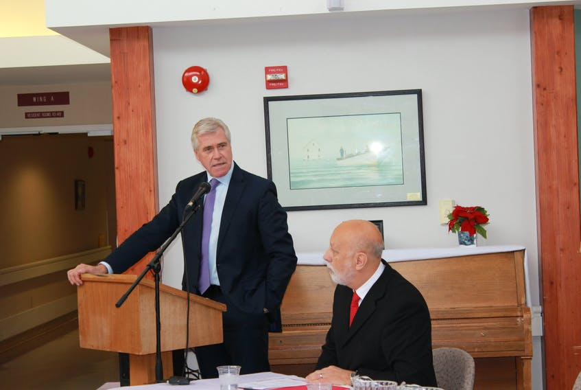Premier Dwight Ball has announced plans for a new 60-bed long-term care facility for Grand Falls-Windsor, as well as a 20-bed expansion to the protective care section of the Dr. Hugh Towmey Centre in Botwood.
