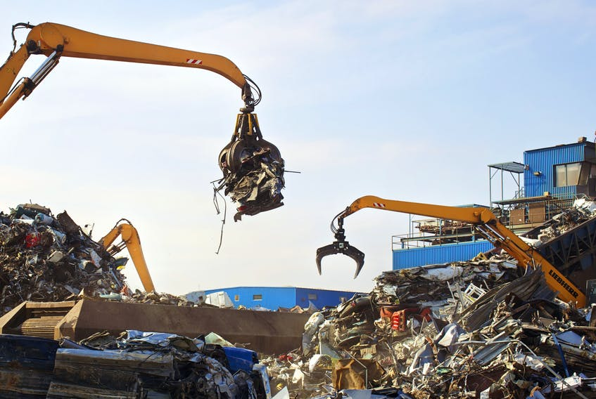 AIM Recycling wants to help St. John's residents turn their old metal into cash.  - Photo Courtesy AIM Recycling