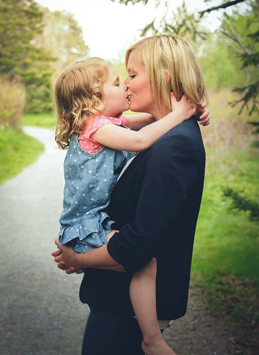 Quinn Butt and her mother Andrea Gosse. - Contributed