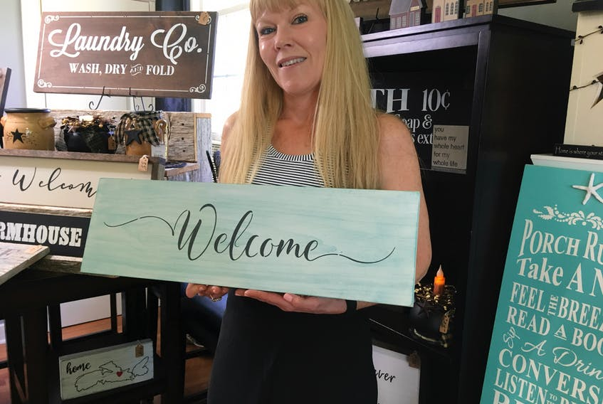 Heather LeBlanc's small home decor business has pushed her to limits she never dreamed she could reach.