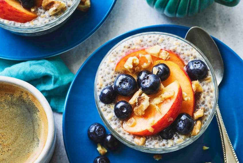 Overnight Steel Cut Oats with Chia