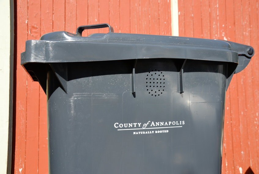 New compost bins are being rolled out by the municipality in Annapolis County starting in the east and going west. On Oct. 5 residents in Lawrencetown were receiving their bins that replace the ones being collected by Valley Waste.