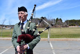 North Kentville piper Ed Coleman is offering to share an original composition he's dedicating to Portapique with any bagpipe players interested in learning the tune.