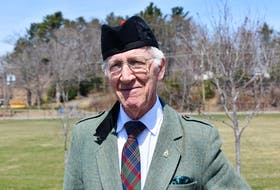 Ed Coleman started playing the bagpipes in the 1950s after growing up in a musical home.