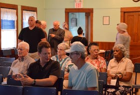 Hants Border ratepayers prepare to cast ballots for or against a fire capital area rate for the Hantsport Fire Department on July 30.