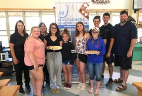 The Egg Farmers of Nova Scotia recently committed to providing Brigadoon Village with a year's supply of eggs and donated $3,000 in support of the village's healthy food programming.