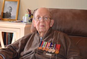 96-year-old Gordon Hansford of Kentville has vivid memories of his time serving in Europe during the Second World War.