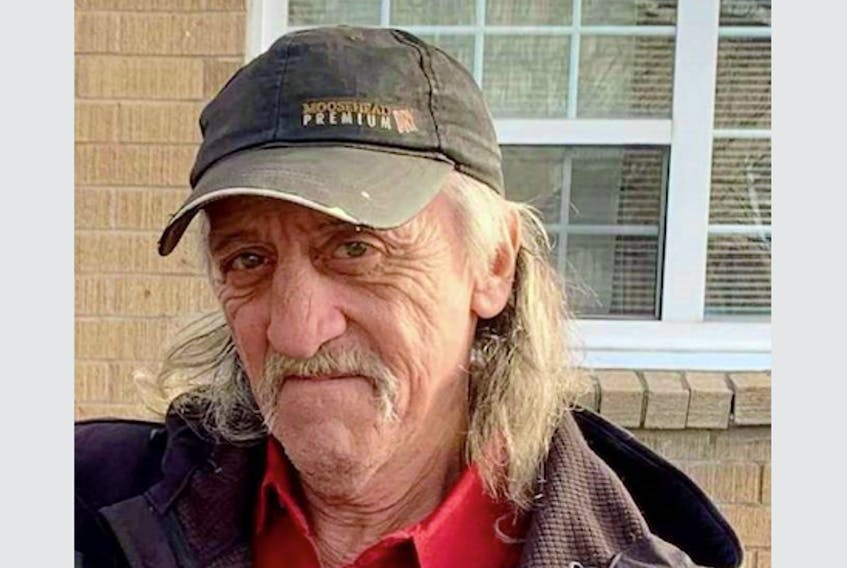 Larry David Veinotte, 60, was last known to be in the Harmony Road area of Kings County on March 14.