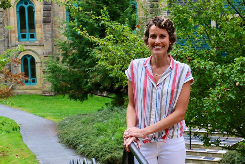 Judy DesRoches, the head of the female residence at King's-Edgehill School, was all smiles at the beginning of the school year. It's been more than a year since the mother of three was diagnosed with breast cancer.