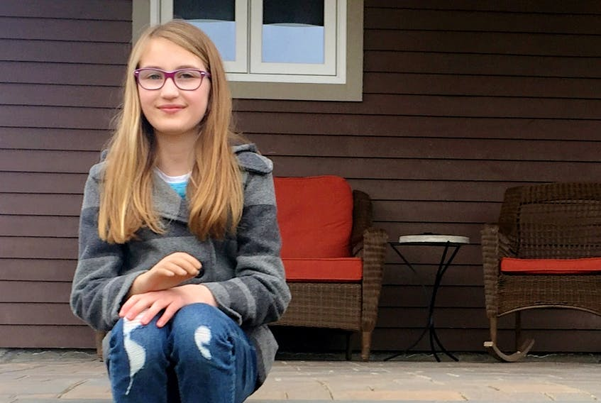 West Hants resident Chloe Dunbar, 10, loves spending time with her friends at War Amps child amputee program meetings, and helping other children like her gain the confidence needed to feel comfortable in their own skin.