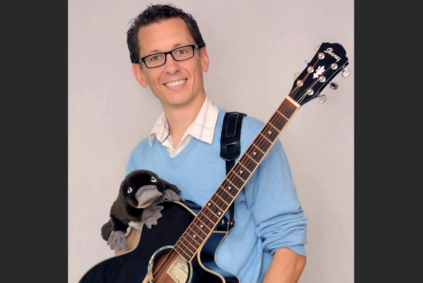 Matt the Music Man helped organize the first KidFest in Wolfville and will be performing after Jamie Junger.