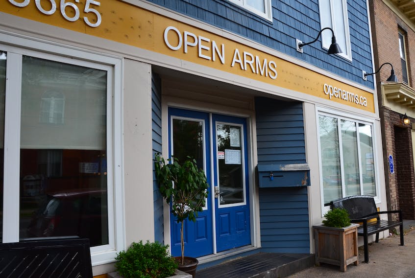 Although the operations of Open Arms in Kentville were impacted by post-tropical storm Dorian, the organization continued working to help vulnerable people through a difficult situation.