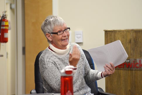 Roberta McGrath spoke to council about the need for increased safety measures at the intersection of Foster Street and Union Street. McGrath believes the best way to ensure safety is to create a three-way stop at the intersection.