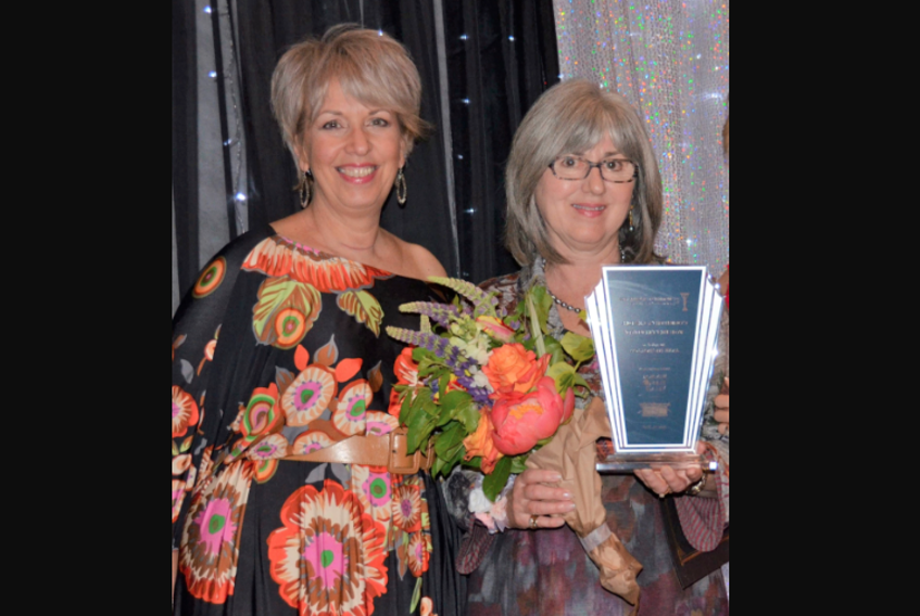 In 2019, Annapolis Valley Chamber of Commerce 2nd vice president Sue Hayes presented the inaugural Women of Excellence Community Leader for Betterment Award to AIRO founder and CEO Jane Nicholson.