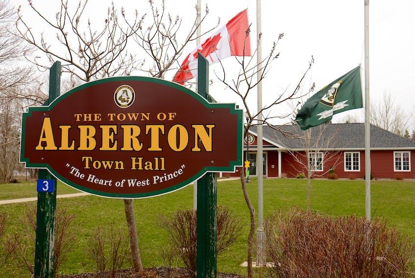 Alberton town hall.