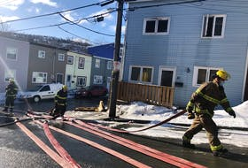 The St. John's Regional Fire Department responded to a structure fire on Alexander Street in downtown St. John's on Wednesday morning.