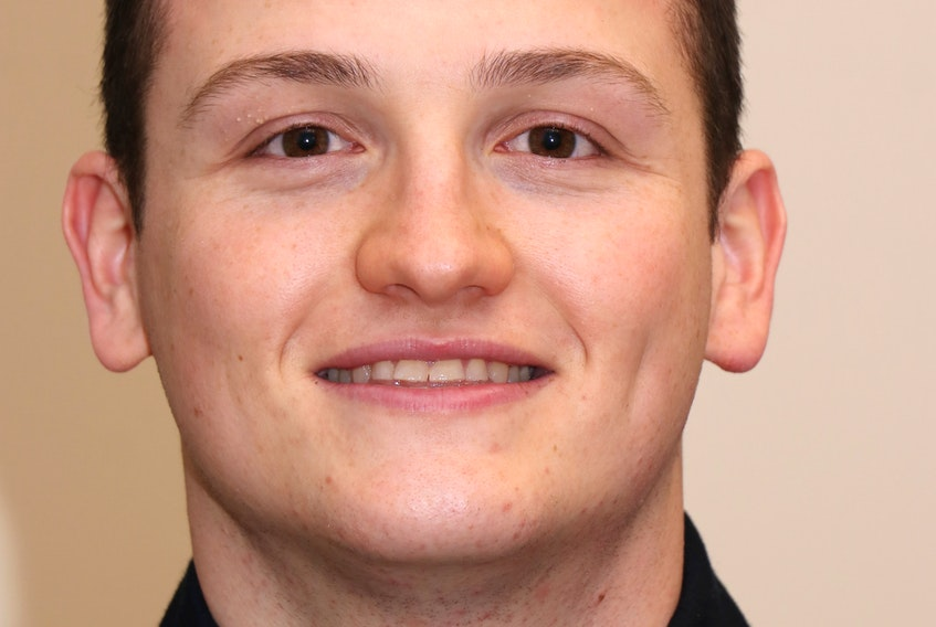 Cameron Baker of Stewiacke joined the Amherst Police Department as a part-time constable on Dec. 17. Tom McCoag/Town of Amherst photo