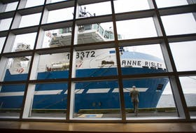 Clearwater Seafoods' factory ship the Anne Risley, named after company co-founder John Risley's mother. FILE