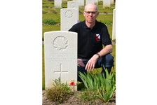 """Bruce MacDonald: """"What I try to emphasize with the people I interact with is the price that families and communities paid in the First World War."""""""