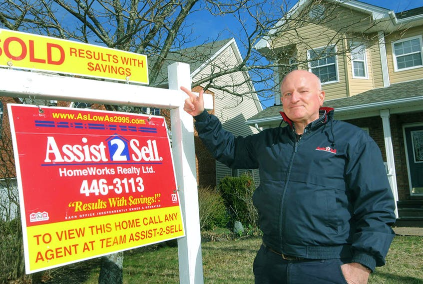 Michael Doyle of Assist-2-Sell in Halifax sells homes for a flat fee paid at closing.