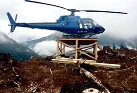 Universal Helicopters has bought Lakelse Air fleet. — Submitted photo by Paul Kendall