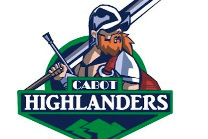 Cabot Highlanders of the Nova Scotia Minor Midget 'AAA' Hockey League.