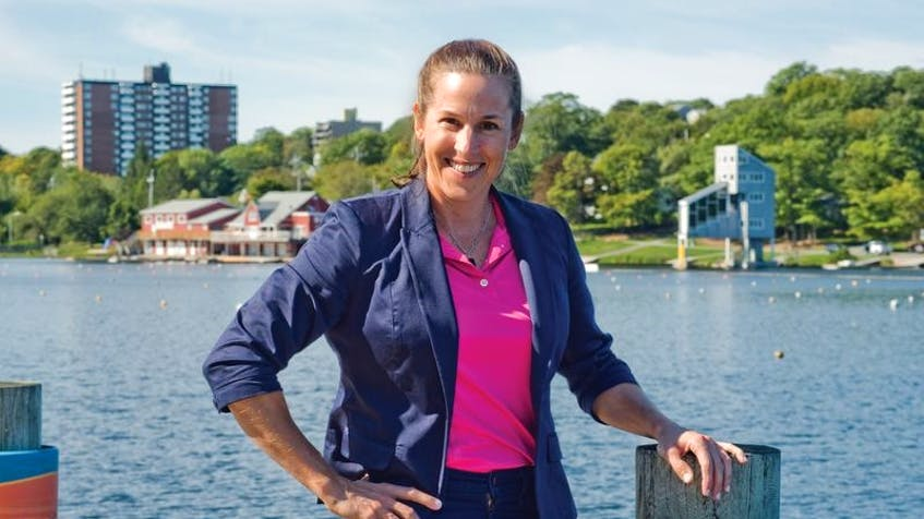 """Nova Scotia Olympian Karen Furneaux, who has gone on to be a motivational speaker and performance coach, says that she carries the """"Olympic ideals"""" — doing your best in whatever you do, being resilient in tough times — """"with her every day."""""""