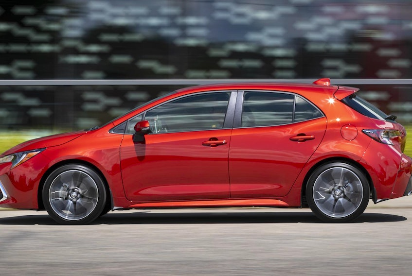 In the 2019 Corolla hatchback, Toyota has coupled its new CVTi-S (continuously variable transmission with intelligence and shift mode) to its new 2.0-litre, four-cylinder engine. - TOYOTA