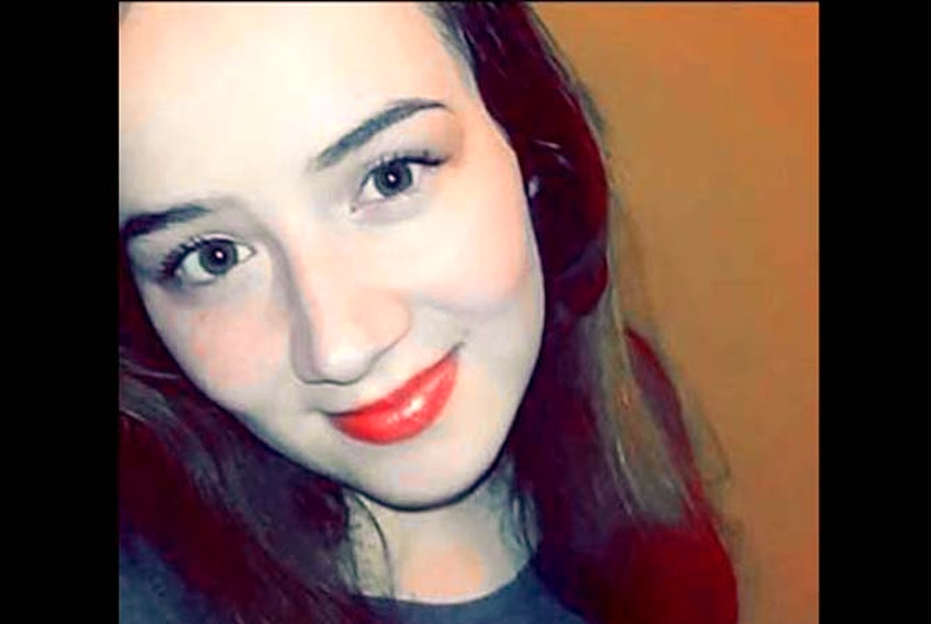 Cassidy Bernard was found dead in her home in We'kogma'q, Cape Breton on Oct. 24 FACEBOOK