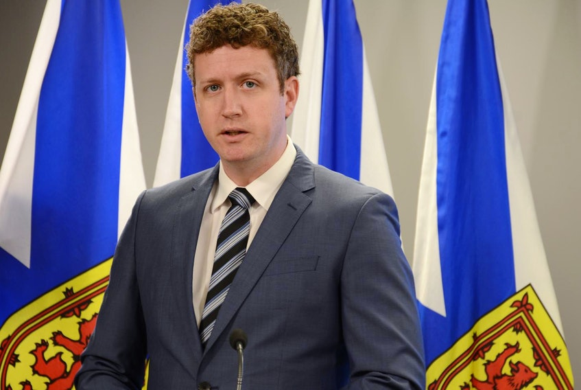 Iain Rankin, the provincial Lands and Forestry minister, explains his department's response Monday to an independent review of forestry practices that was delivered in August. - FRANCIS CAMPBELL