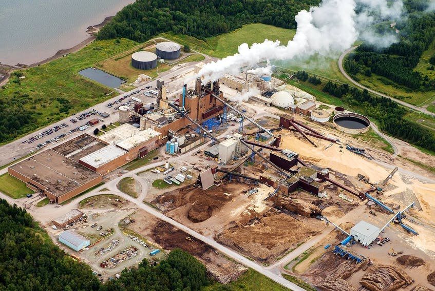 """The Northern Pulp facility in Pictou County. The province contention that because any new effluent treatment facility would have to undergo an environmental assessment, the province and the mill would have to consult with the First Nation before its construction, but a Supreme court judge said this argument """"misses the mark."""" - File"""