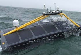 Xocean is considering Halifax as base for its unmanned surface vessels. The Irish company is developing a fleet of unmanned surface vessels to gather ocean data. - Contributed