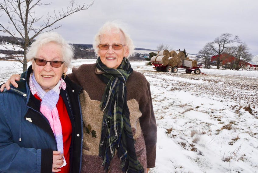 Ann Vissers and Gertie van den Hof live atop Nelson Hill in Milford Station along with Marie Huybers, who isn't shown. The three Dutch women emigrated to Nova Scotia after the Second World War. - Aaron Beswick