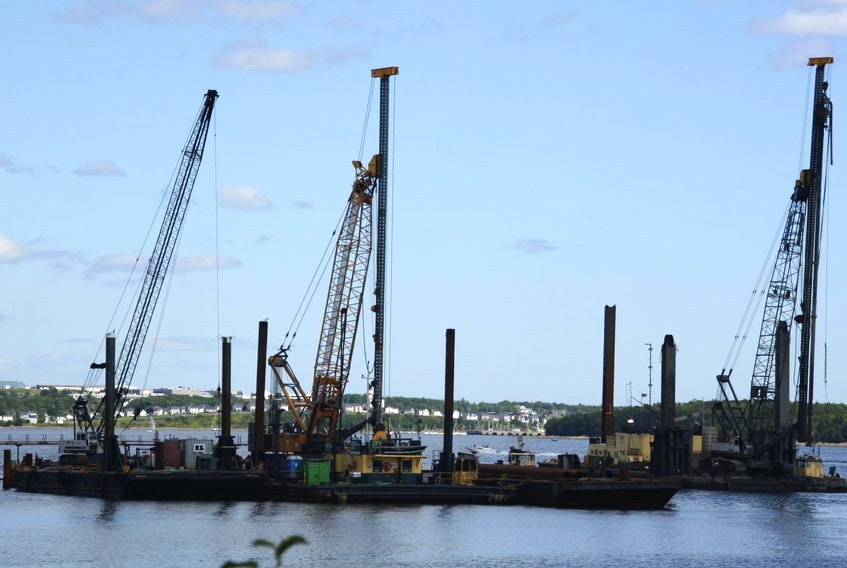 McNally Construction Inc. has built several piers in Halifax, including an extension to Pier 42.