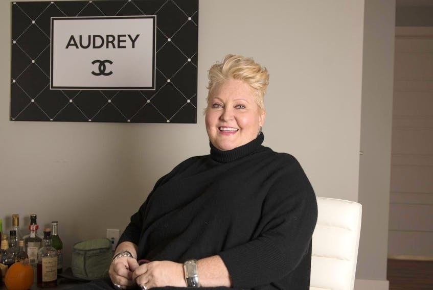 Audrey Parker poses for a photo at her Halifax apartment on Oct. 26. - Ryan Taplin