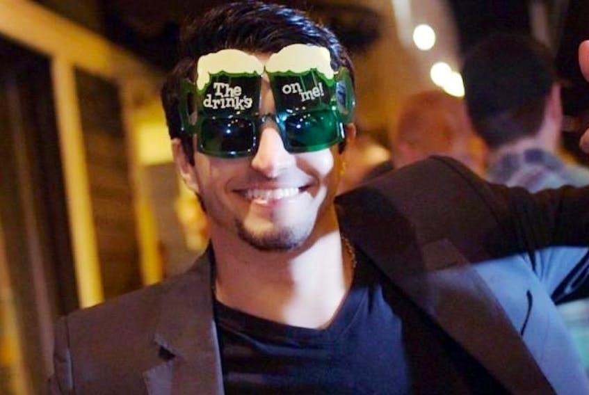 Mohammed Zuraibi Alzoabi, pictured in two Facebook photos.