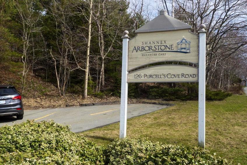 Shannex Arborstone Senior home, 126 Purcell's Cove Road, Halifax. April 25, 2017.  FILE