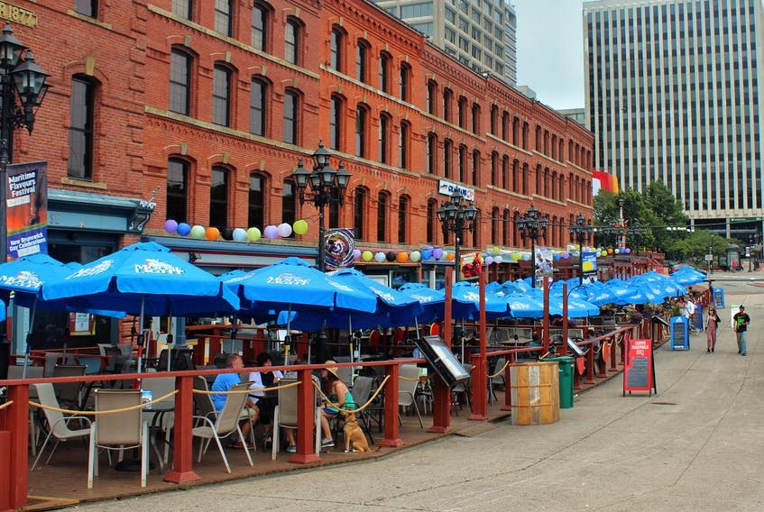 Market Square in Saint John, N.B. The city is full of interesting and historic buildings.