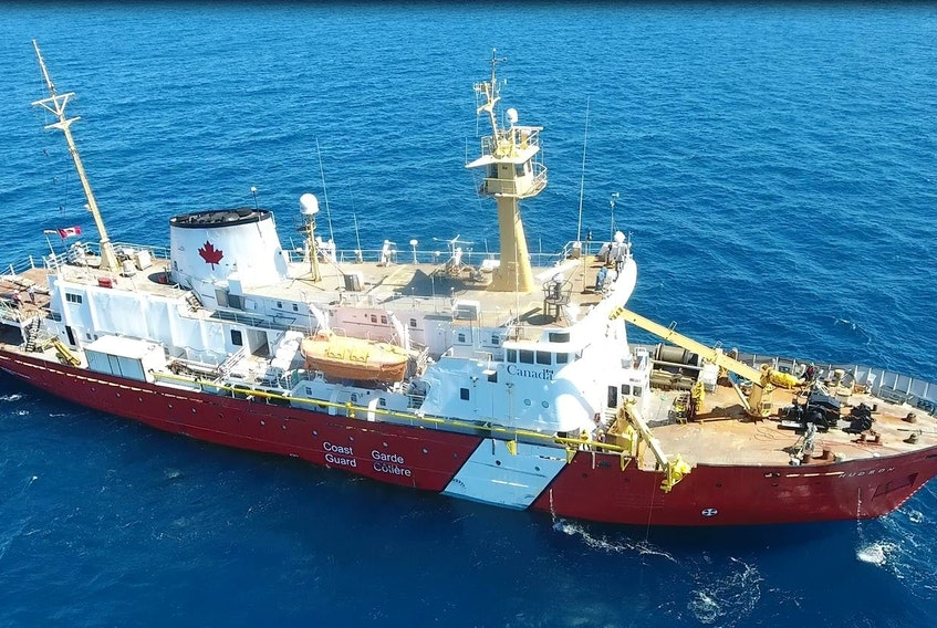 The refit work on the CCGS Hudson is scheduled to begin Feb. 25 and last until July 15 this year. The work includes significant steel repairs, tank replacement, and replacement of watertight openings.