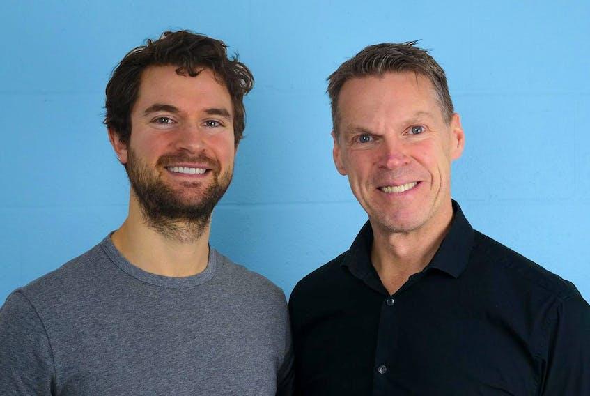 Beyond Food co-founders TJ Galiardi, left, and Darren Burke.
