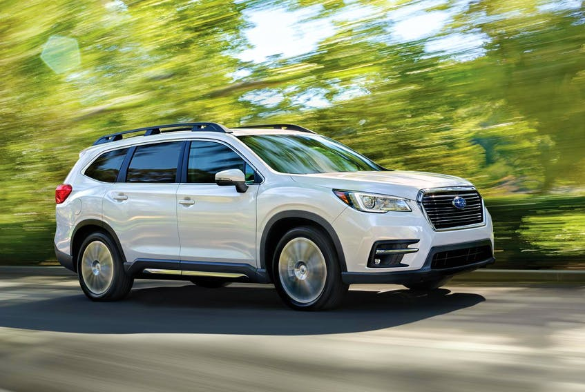 The 2019 Subaru Ascent is powered by a turbocharged, 2.5-litre, horizontally-opposed, four-cylinder engine capable of up to 260 horsepower and 277 lb.-ft. of torque. (Subaru)