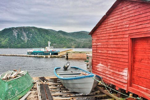 A beautiful view of Norris Point at the doorstep of Gros Morne National Park in Newfoundland.