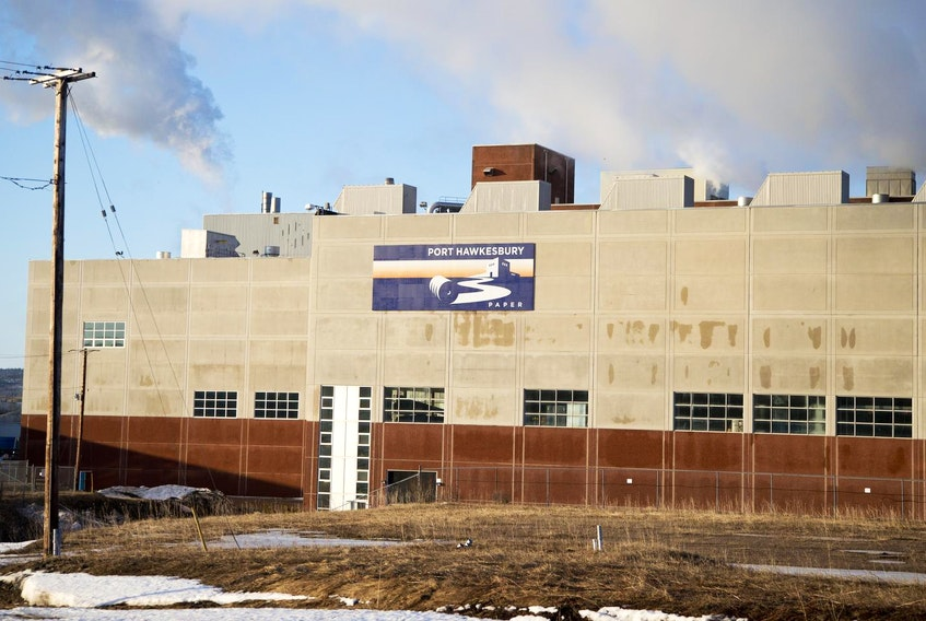Port Hawkesbury Paper is importing pulpwood from New Brunswick and wood chips from Quebec. -File