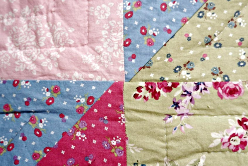 Heather's developed a system for figuring out how much fabric goes into her quilt. - Heather Laura Clarke