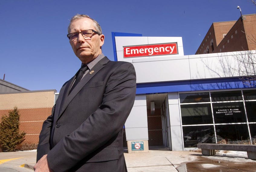 Terry Chapman, CEO of with the International Union of Operating Engineers, which represents paramedics in Nova Scotia. - Eric Wynne