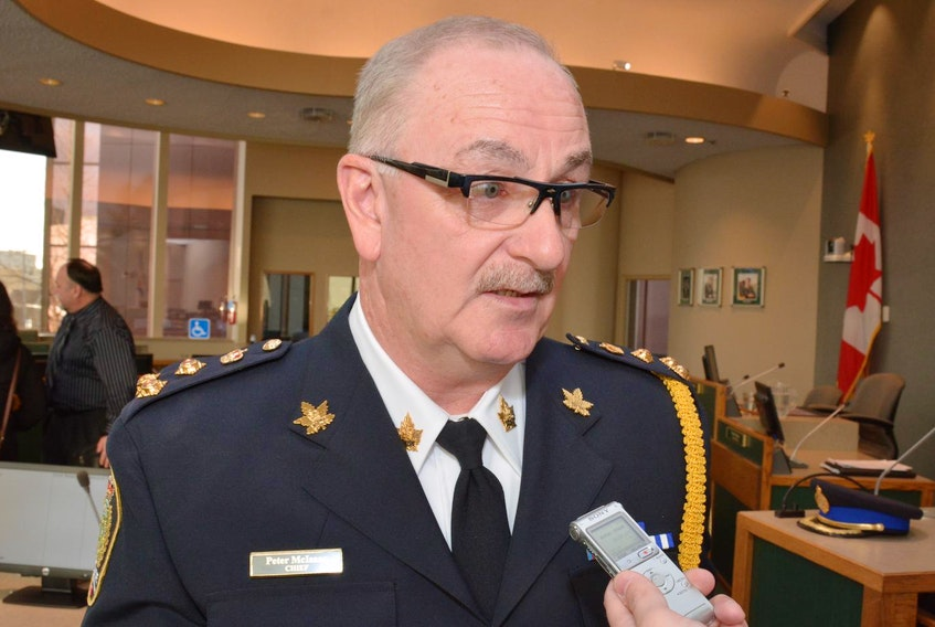 Cape Breton Regional Police chief Peter McIsaac. - File