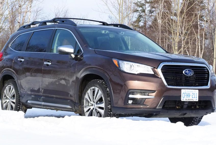 The 2019 Subaru Ascent is powered by a 260-horsepower, 2.4-litre, four-cylinder engine.
