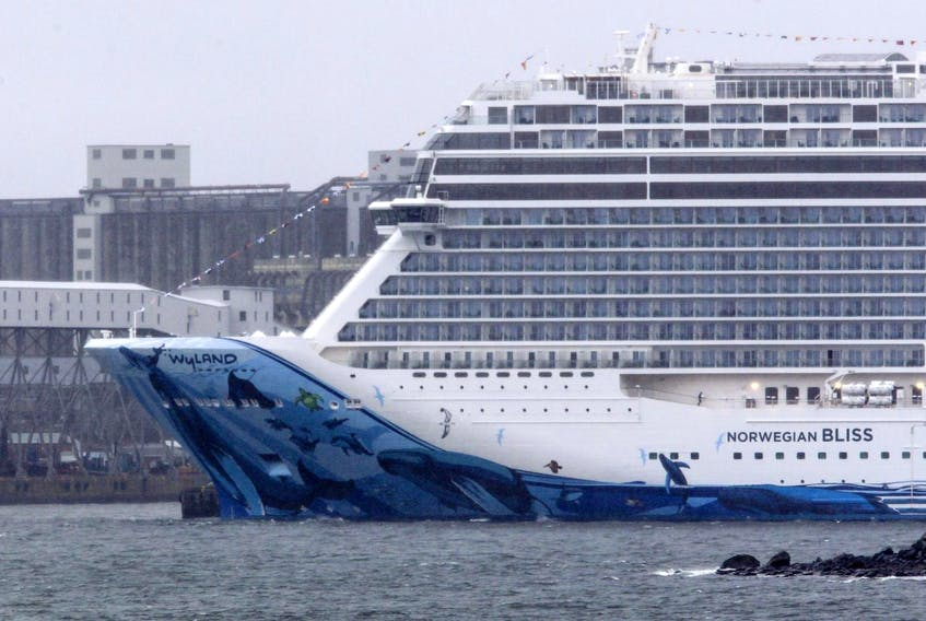 The 330-metre, Norwegian Bliss, on it's maiden voyage, was seen on the Halifax waterfront last April. Monday will mark the start of the 2019 cruise ship season in Halifax, with the arrival of the Marina, an Oceania Cruises vessel, at Pier 31. The port expects 190 vessels this year with a total of 320,000 passengers.
