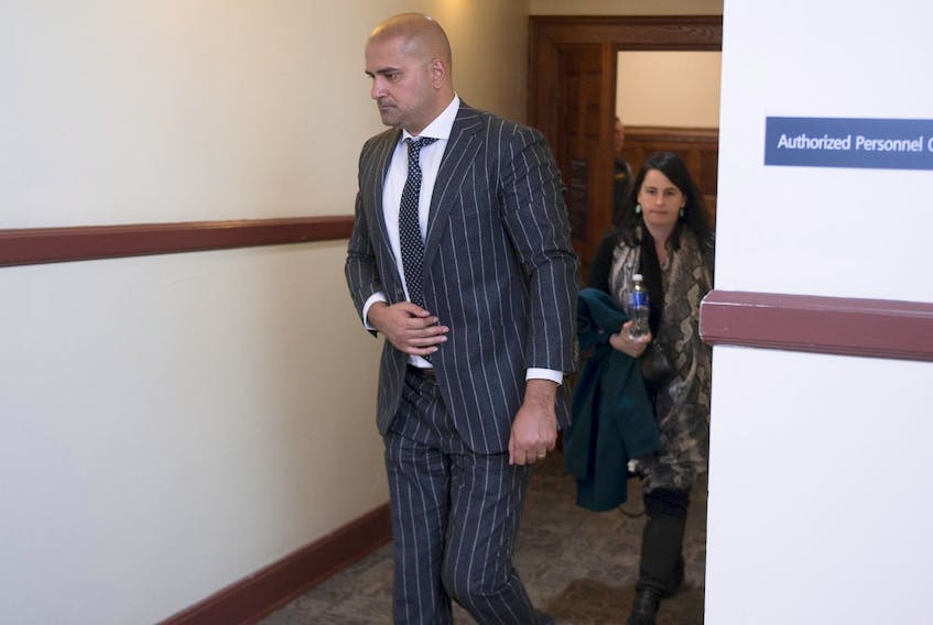 Former taxi driver Bassam Al-Rawi is testifying at his trial on a charge of sexually assaulting a woman who was found unconscious and partially naked in the back seat of his cab in May 2015. - Ryan Taplin / File